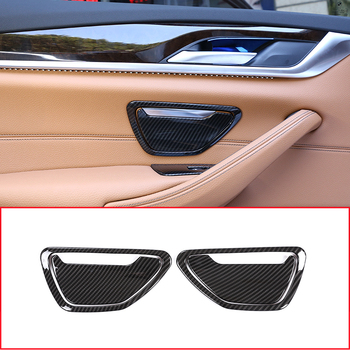 Carbon fiber Style ABS Plastic For BMW 5 Series G30 2017 ...