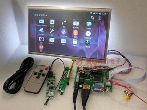 """Image 2 - Комплект Raspberry Pi с 10"""" дюймовым сенсорным экраном 1024x600 для автомобиля с поддержкой HDMI VGA USB AV"""