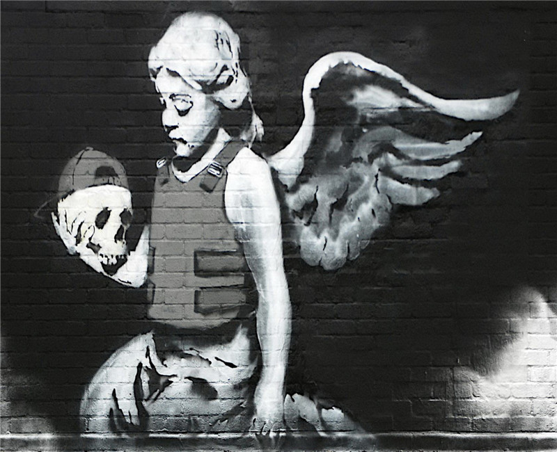 banksy art sale ends today choose either a print t shirt transfer or sticker