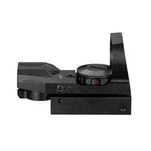 Image 5 - Quente 20mm ferroviário riflescope caça óptica holográfica red dot sight reflex 4 reticle tactical scope colimador vista