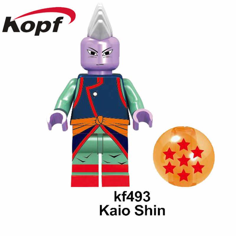 KF526 Única Venda Blocos de Construção Figuras De Dragon Ball Z Goku Preto Rosa Dyspo Zamasu Tijolos Ação Presente Modelo Para Crianças brinquedos