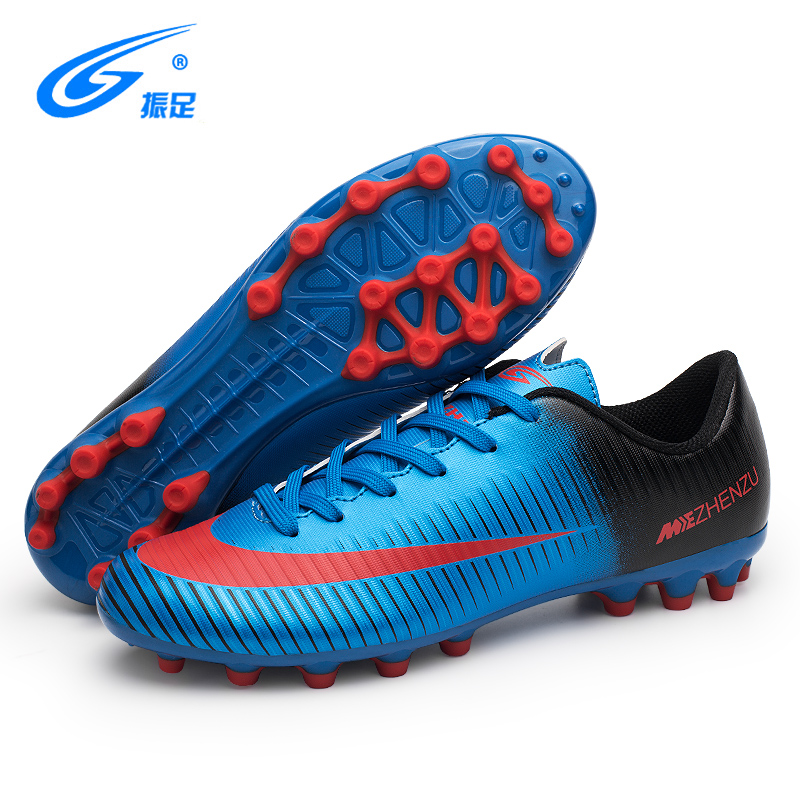 8d3a99a5f ZHENZU Brand Professional Soccer Football Shoes Men Women Outdoor AG Soccer  Cleats Athletic Trainers Sneakers Adults Boots-in Soccer Shoes from Sports  ...