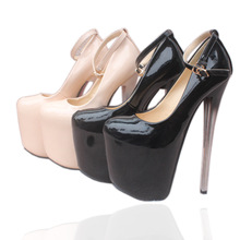 Sexy High Heel Pumps 19CM 22CM Steel Pole Dance Shoes Women Platform Party Night Club Striptease Shoes Ladies 2019 Summer Woman dorisfanny night club super sexy high heel pumps party shoes for women rainbow color changing women wedding shoes