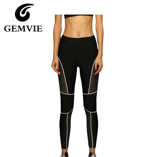 Women Black Casual Ankle-Length Leggings Patchwork Pants Fitness Ladies Legging Pant Capri 2016 New Top Quality