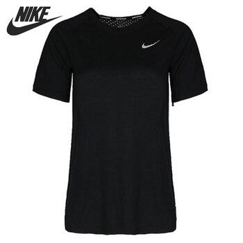 Original New Arrival NIKE AS W NK TAILWIND TOP SS Women's T-shirts short sleeve Sportswear