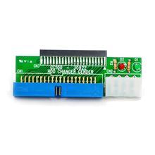 """Kebidumei 44 פין 2.5 """"HDD כדי 3.5"""" IDE 40 פינים ממשק דיסק קשיח כונן HDD ממיר מתאם עבור מחשב נייד מחשב שולחני מחשב"""