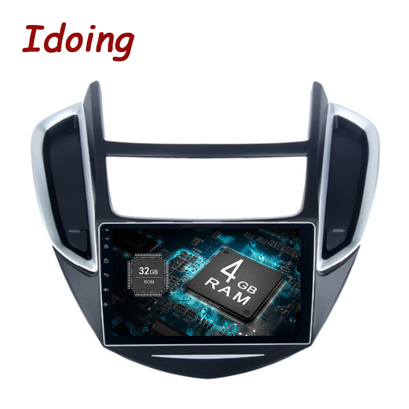 Idoing 9android 80 Car Gps Player For Chevrolet Trax 2013 2016