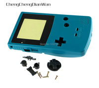 ChengChengDianWan 5sets Hot Sale New Shell For GBC Transparent Color with Limited Version Lens for Gameboy Color Console