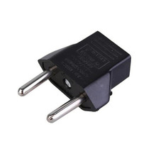 1 Pcs European standard conversion plug two plugs For US regulations European standard conversion head EU standard adapter