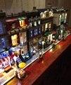 Kit de luz LED (sólo luz incluido) creador de lego bloques de construcción modular y lepin casa 10246 10243 10228 10190 10185 10197