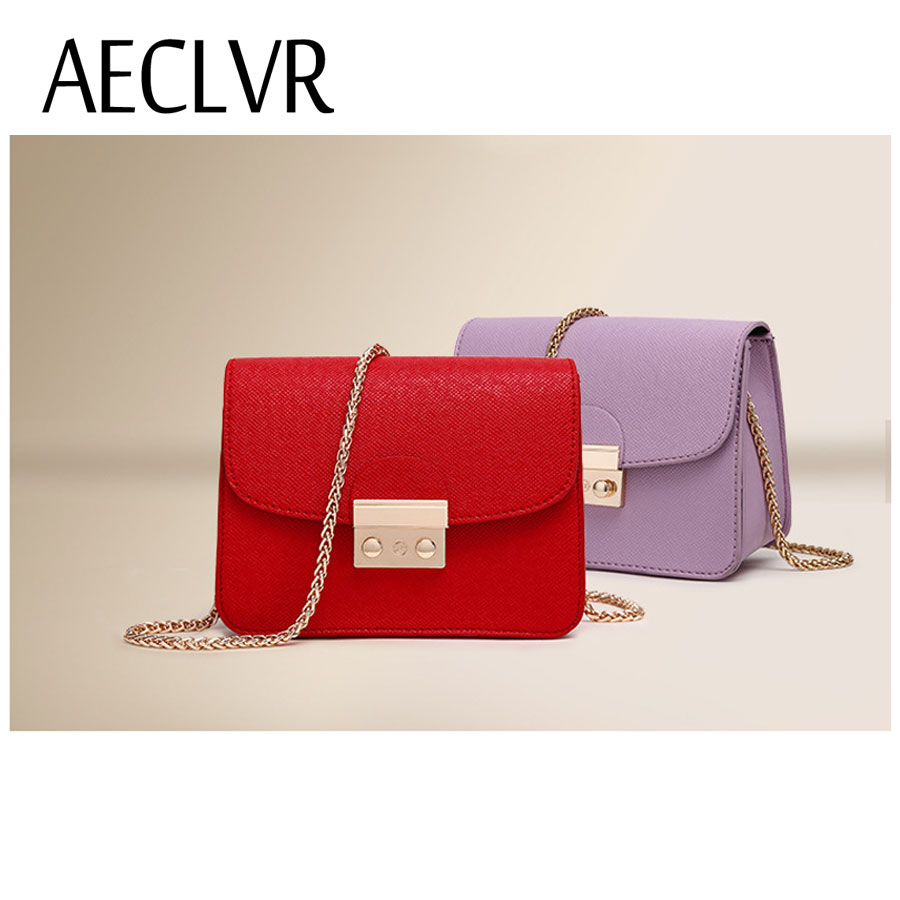 AECLVR Small Women Bags PU leather Messenger Bag Clutch Bags Designer Mini Shoulder  Bag Women Handbag Hot Sale bolso mujer purse - TakoFashion - Women s ... 6a35266c3d123