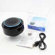 Портативный Беспроводной IPX7 Водонепроницаемый душ Динамик громкой связи sucting Mic автомобилей Bluetooth 3.0 Беспроводной передачи аудио В наличии!