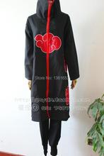 Naruto Cosplay Akatsuki Orochimaru uchiha madara Sasuke itachi Pein amina ropa traje 1 Unidades ( capa + pantalones )