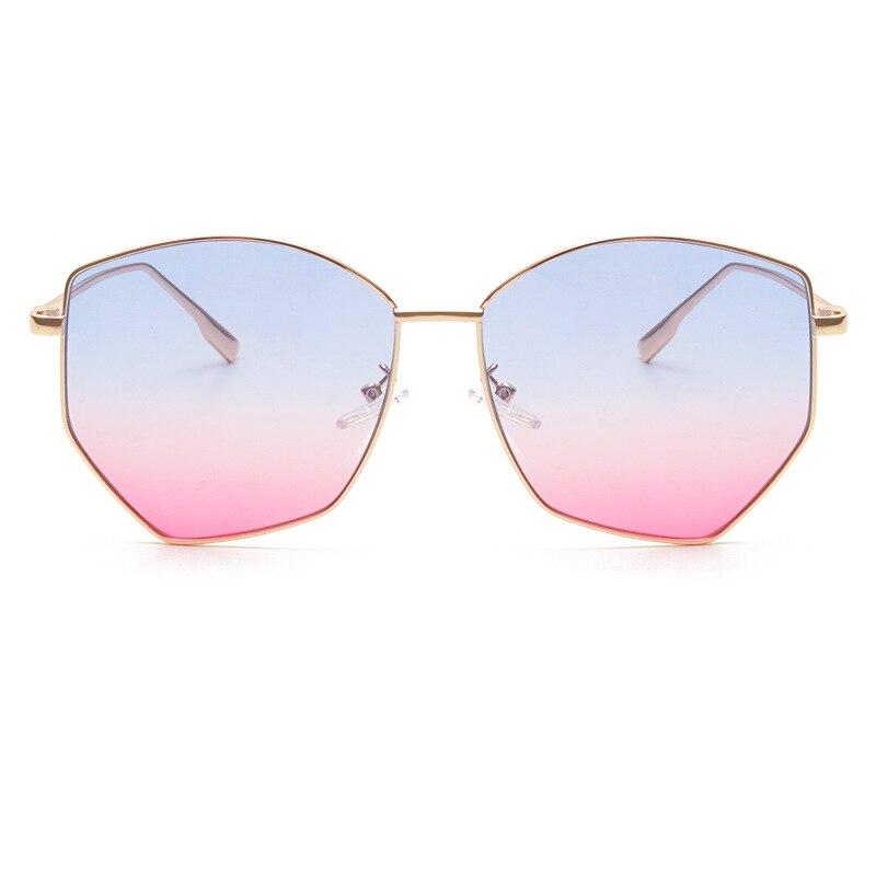 Women's Sunglasses Conscientious Mimiyou 2018 Polygon Women Sunglasses Cat Eye Eyewear High-grade Vintage Fashion Eyeglasses Men Sun Glasses Brand Shades Oculos Women's Glasses