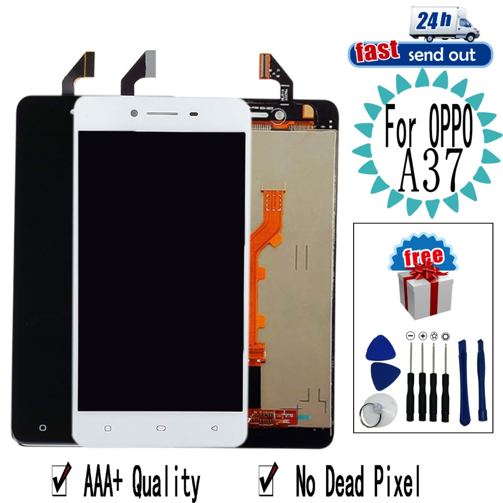 A37 <font><b>LCD</b></font> For OPPO A <font><b>37</b></font> A37 <font><b>LCD</b></font> Display Touch <font><b>Screen</b></font> Digitizer Assembly Replacement For OPPO A37 image