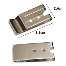 5.5cm Pocket Metal Hook Accessories Handmade DIY Key Bag Phone Pack Running Cycling Jogging Sport Gadgets