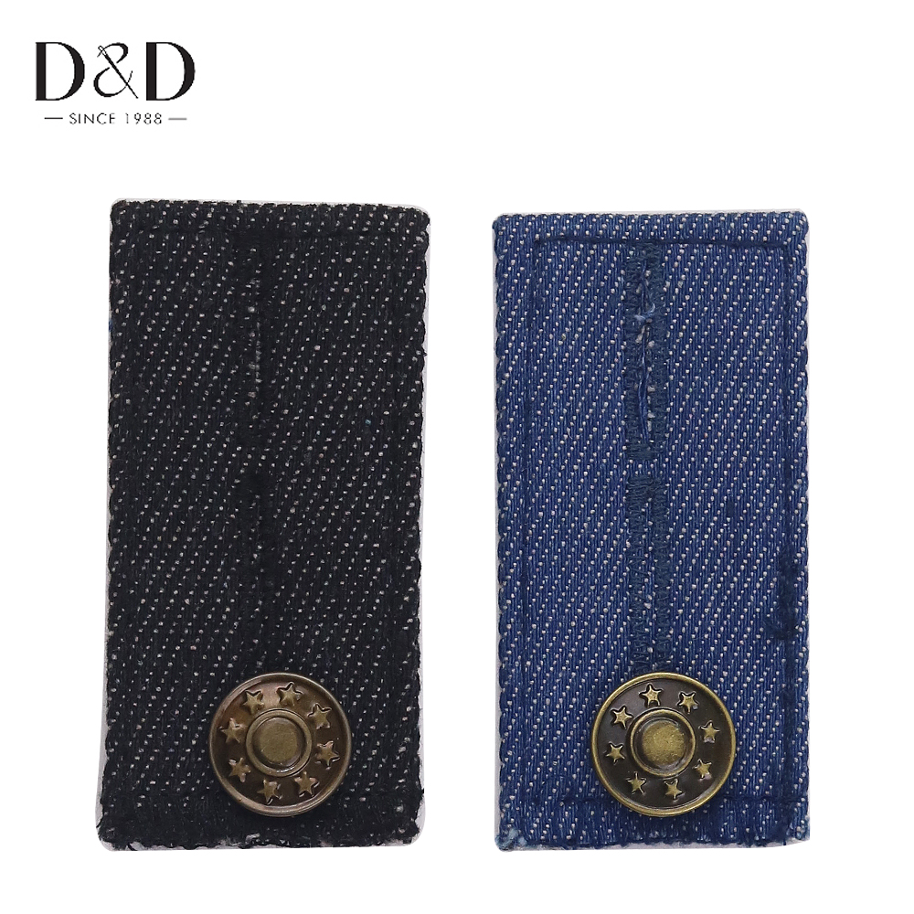 2pcs Trousers' Extender Jeans Extender Pregnant Woman Clothes Accessories for Maternity Dress 7*3.5cm