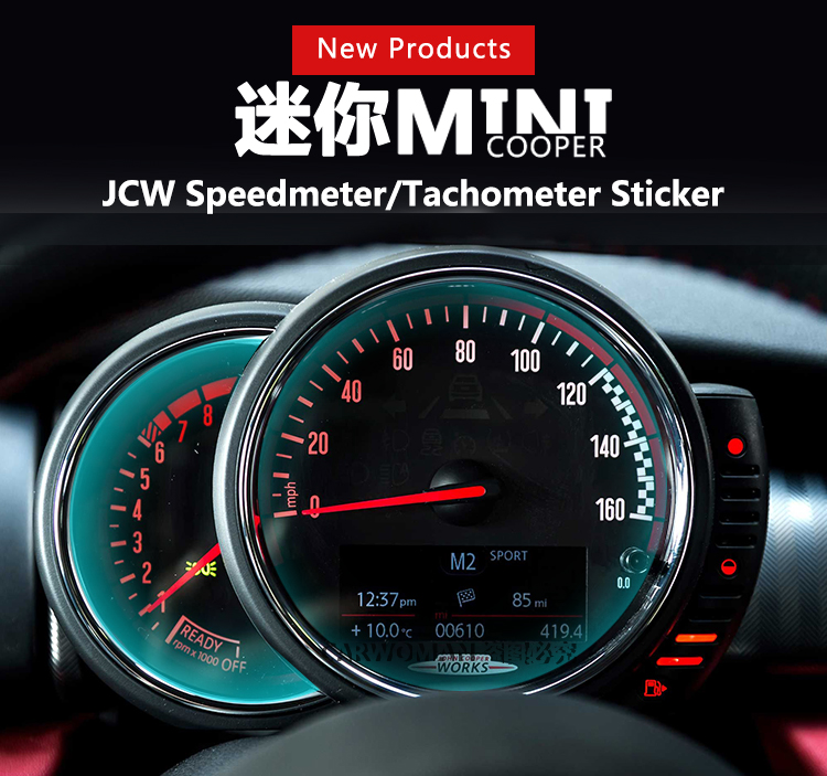 brand new abs material uv protected jcw pro racing style speed