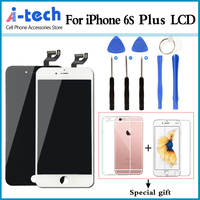 For iPhone 6S Plus 5.5 inch LCD Replacement Display Assembly With Digitizer Touch Phone Screen Assembly AAA + Free Gift