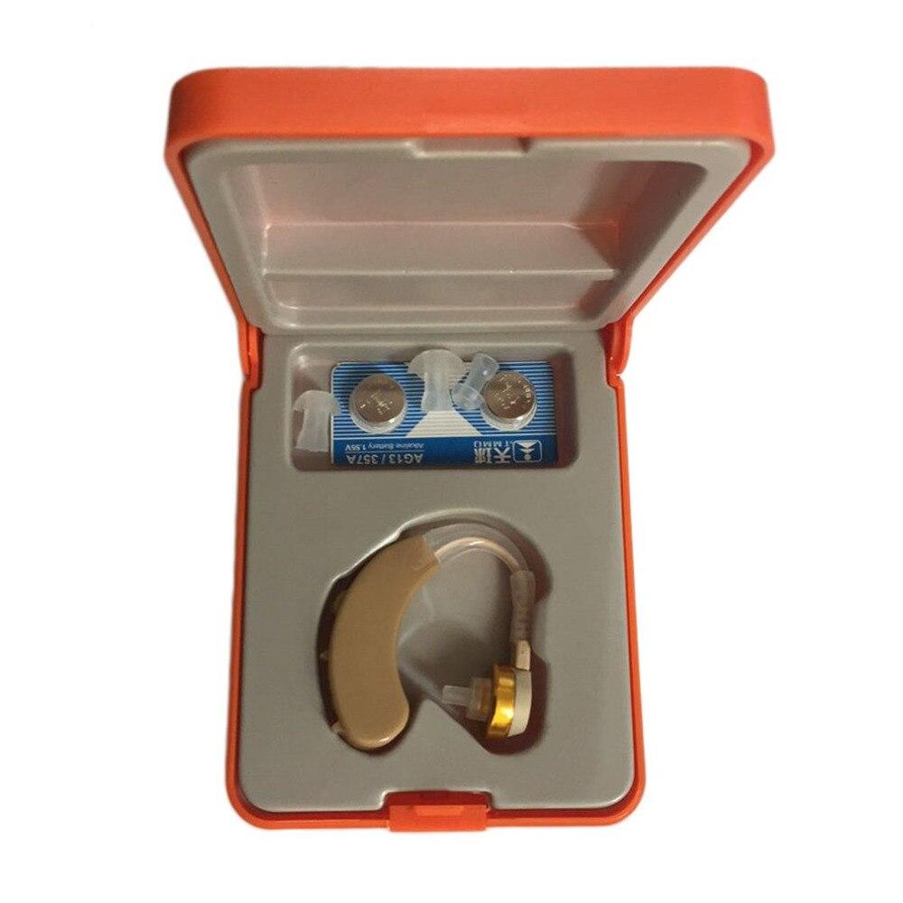 Mejor en la oreja audífonos Amplificadores acousticon digitales invisible Sound Enhancement sordos volumen de tono ajustable audífonos