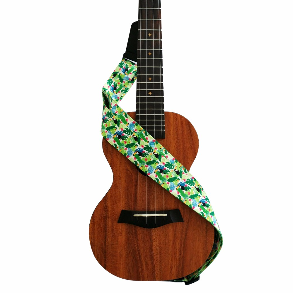 ukulele strap hawaii style for ukuleles in guitar parts accessories from sports. Black Bedroom Furniture Sets. Home Design Ideas