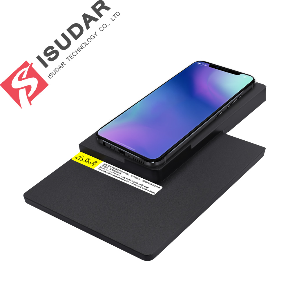 ISUDAR 10W Qi Car Wireless Charger Auto Fast Wireless Charging For Audi A4L/A5/2017/2018 for iphone 8 X For Samsung For HuaweiISUDAR 10W Qi Car Wireless Charger Auto Fast Wireless Charging For Audi A4L/A5/2017/2018 for iphone 8 X For Samsung For Huawei