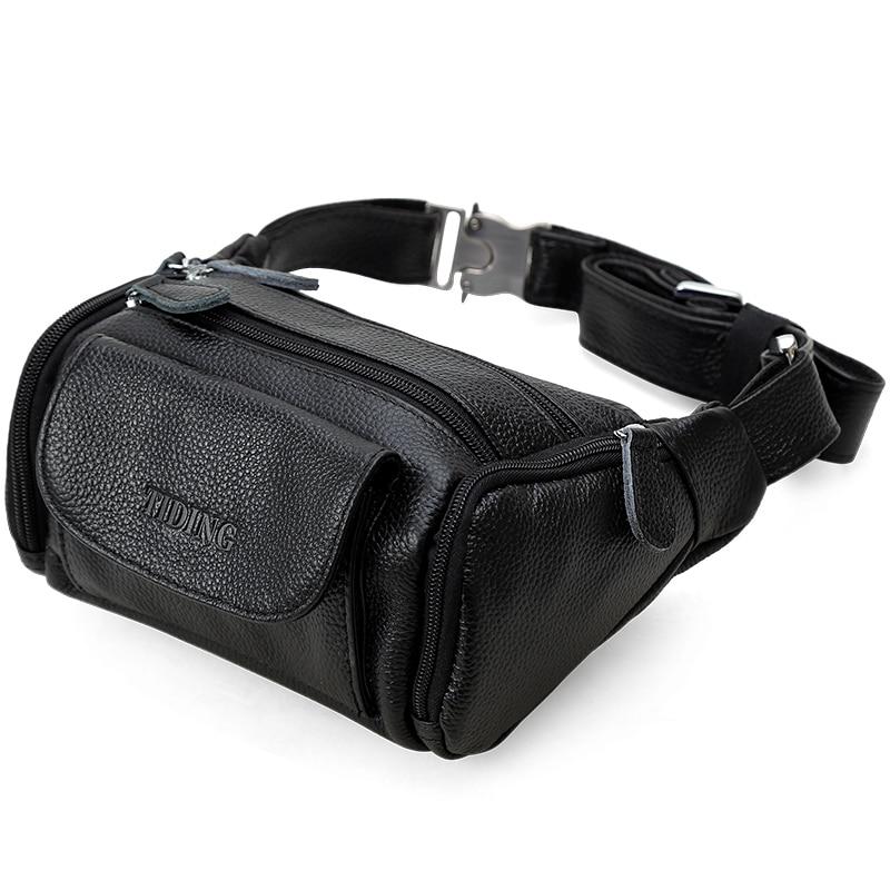 Мужская поясная сумка из натуральной кожи поясная сумка мужская дорожная поясная сумка на пояс мешочки для телефона маленькие нагрудные пакеты