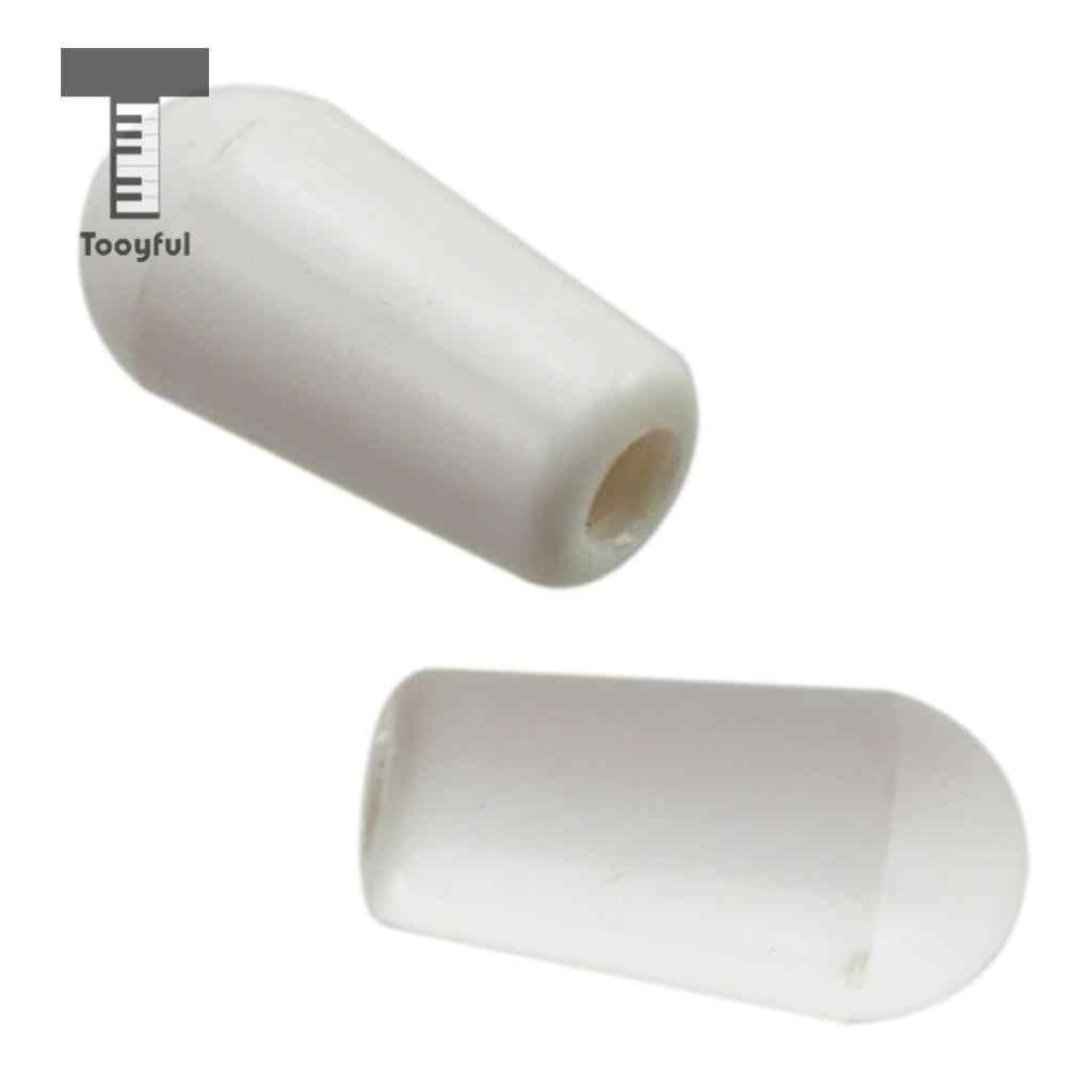 Tooyful 10 шт. пластик 3 способ пикап рычаг селектор тумблеры ручки колпачок наконечник кнопки для ST SQ электрогитары