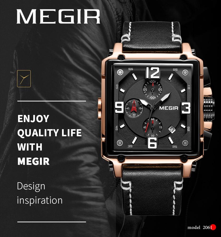 HTB1CDbHTr2pK1RjSZFsq6yNlXXa7 MEGIR Creative Men Watch Top Brand Luxury Chronograph Quartz Watches Clock Men Leather Sport Army Military Wrist Watches Saat