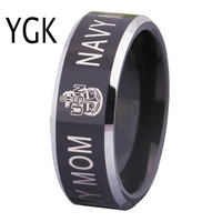 Free Shipping USA UK Canada Russia Brazil Hot Sales 8MM The Army Military Navy Mom Design