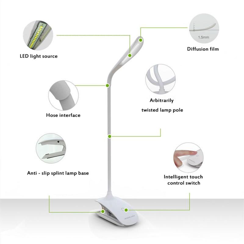 Luzes da Noite liderada lâmpada de leitura proteção Estilo : Modern