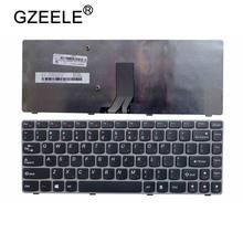 Новая клавиатура для ноутбука LENOVO Y480 Y480N Y480M Y480A Y480P Y485M Y485 серого цвета