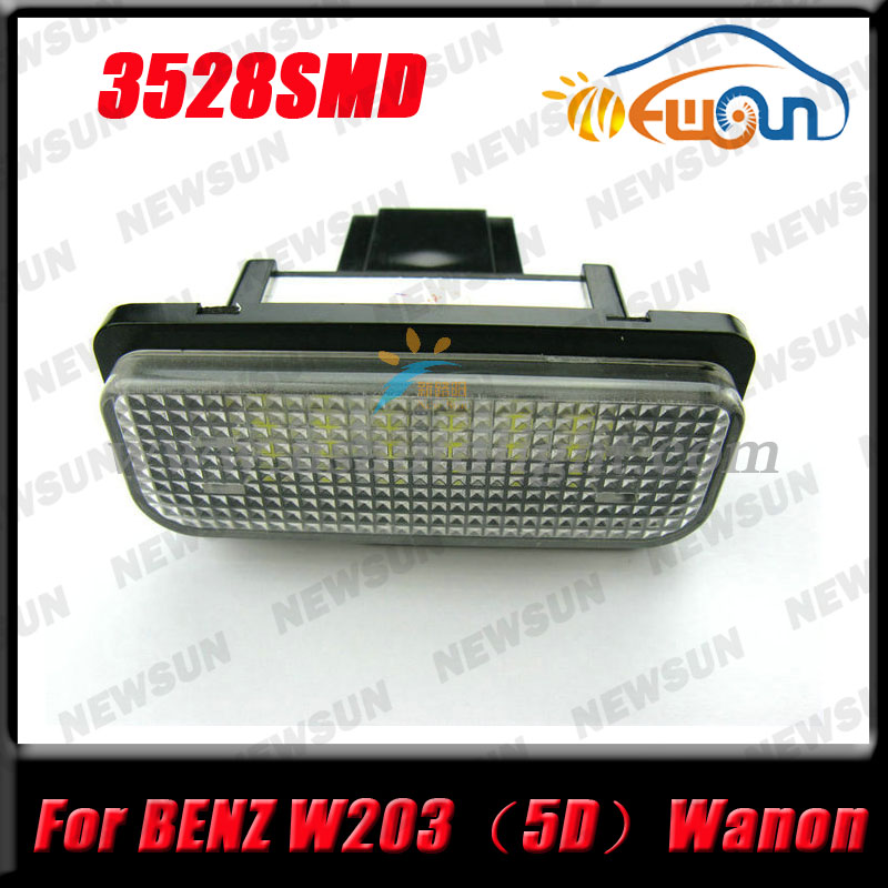 2PCS 18SMD Error Free LED License Plate Light Lamp For Benz W219 W211 W203 WAGON 2pcs error free led smd license plate light for toyota land cruiser lexus gx lx470 new dropping shipping