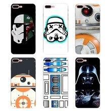 41f882424b5 Star Wars Darth Vader Bb-8 edredón suave para iPhone XS Max XR X 4 4S 5 5S  5C SE 6 6 S 7 7 8 Plus, Samsung Galaxy J1 J3 J5 J7 A3.