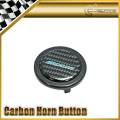 For Spoon Carbon Sticker Steering Wheel Push Horn Button Car-styling