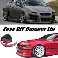 Bumper Lip Deflector Lips For Fiat Brava / Bravissimo / Bravo Front Spoiler Skirt For Tuning / Body Kit / Strip
