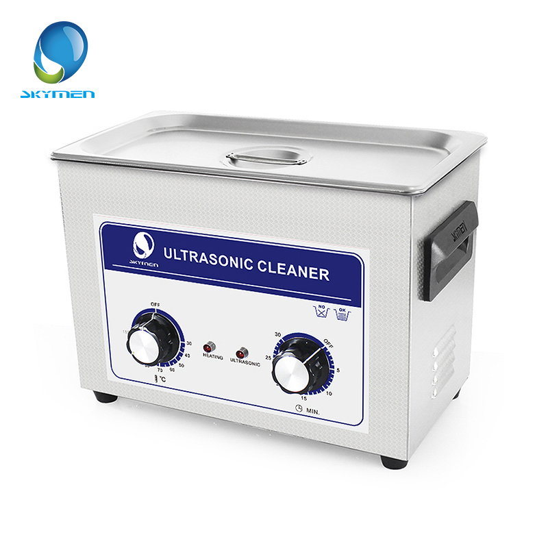 цена на SKYMEN Knob Type Ultrasonic Cleaner Bath 4.5L 180W 40kHz 110/220V for Cleaning Badges Valves Machine Nozzles with Timer Heater