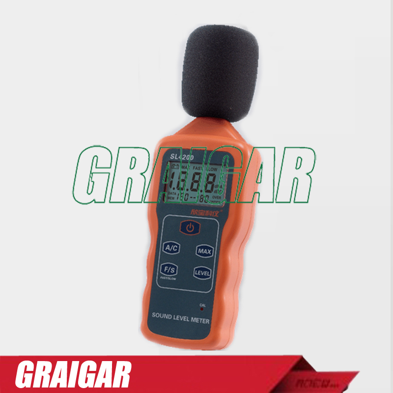Sound Level Meter SL4200 digital noise decibel tester sound level meter sk1358