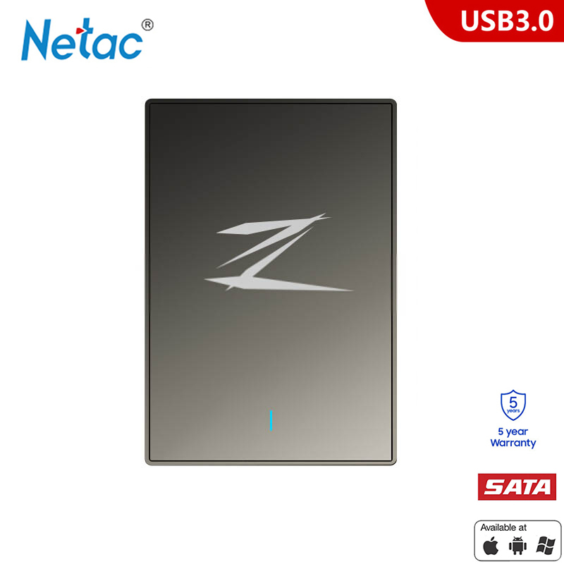 Netac Z1 SSD 128G 256 GB 512G msata hdd 2.5 SATA USB 3.0 disque dur externe disco duro externo pour ordinateur portable tablette Mac - 4
