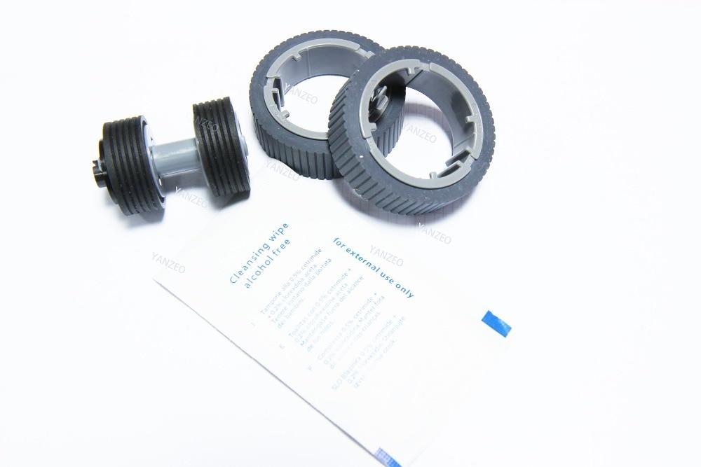 PA03710 0001 PA03670 0002 Scanner Brake and Pick Roller Set for Fujitsu Fi 7460 Fi 7480
