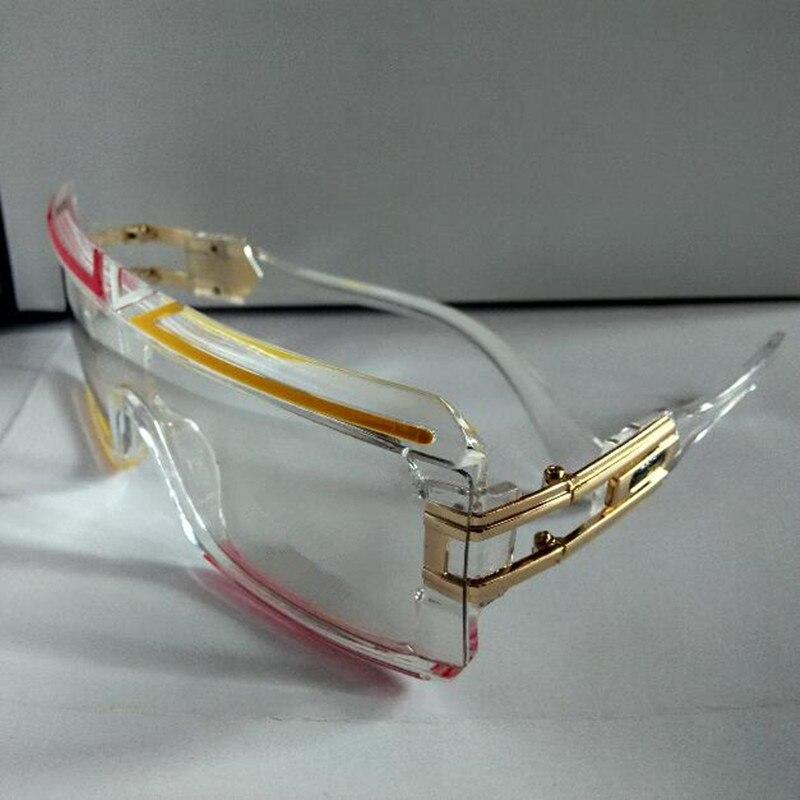 KAPELUS man is big face sun glasses transparent linked body sunglasses the woman recreational glasses 4024