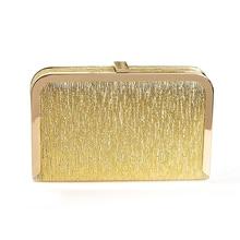 2016 neue Xuanliang abendessen wird kupplung handtasche gold kette kleine silber box tasche handtasche
