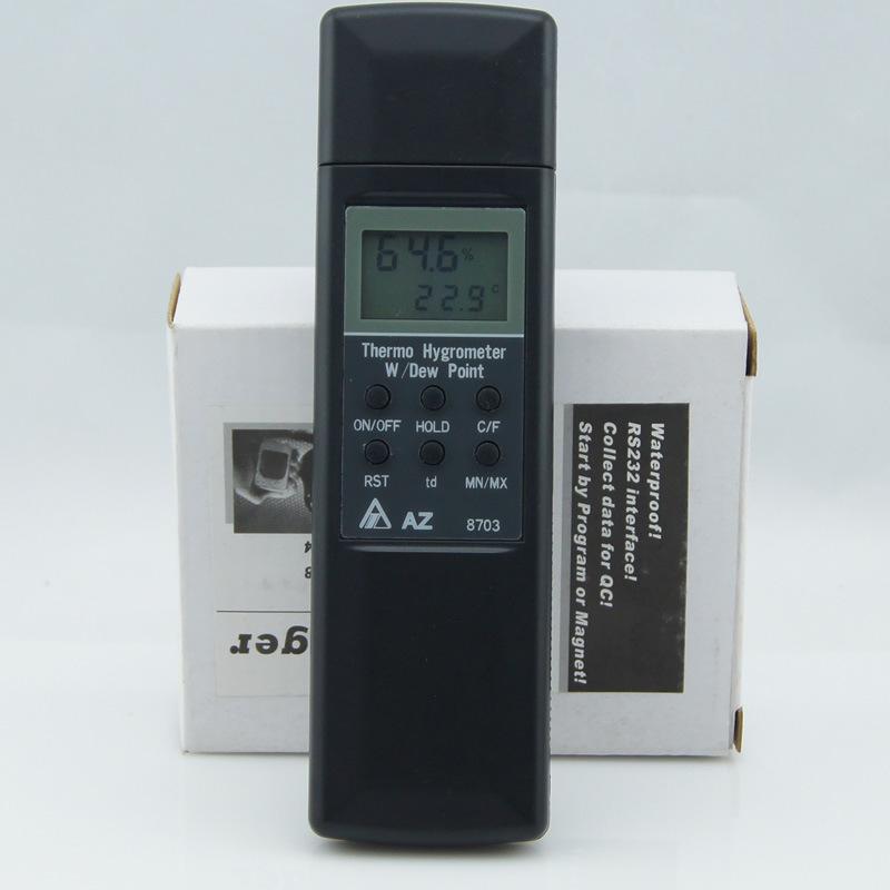ФОТО AZ-8703 Professional Pocket Digital Hygro-thermometer Hygrometer Temp Humidity Tester Meter -20-50 Degree 0%-100%RH