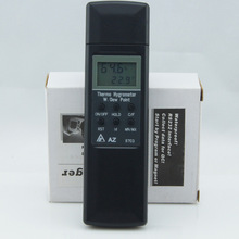 Best price AZ-8703 Professional Pocket Digital Hygro-thermometer Hygrometer Temp Humidity Tester Meter -20-50 Degree 0%-100%RH