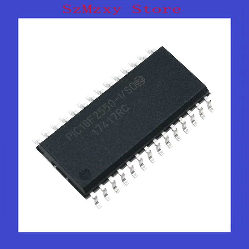 1PCS/Lot PIC18F2550-I/SO PIC18F2550 18F2550 MCU 8BIT 32KB pic18f2550 pic18f2550 i so sop 28