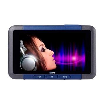 Nueva gran promoción reproductor de música portátil de 8GB Delgado MP3 MP4 MP5 con pantalla LCD de 4,3 FM Radio Video película de alta calidad de sonido