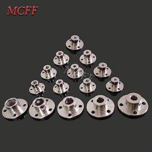 Image 2 - 3mm 3.17mm 4mm 5mm 6mm 6.35mm 7mm 8mm 10mm 11mm 12mm Rigid Flange Coupling Motor Guide Shaft Coupler Motor Connector