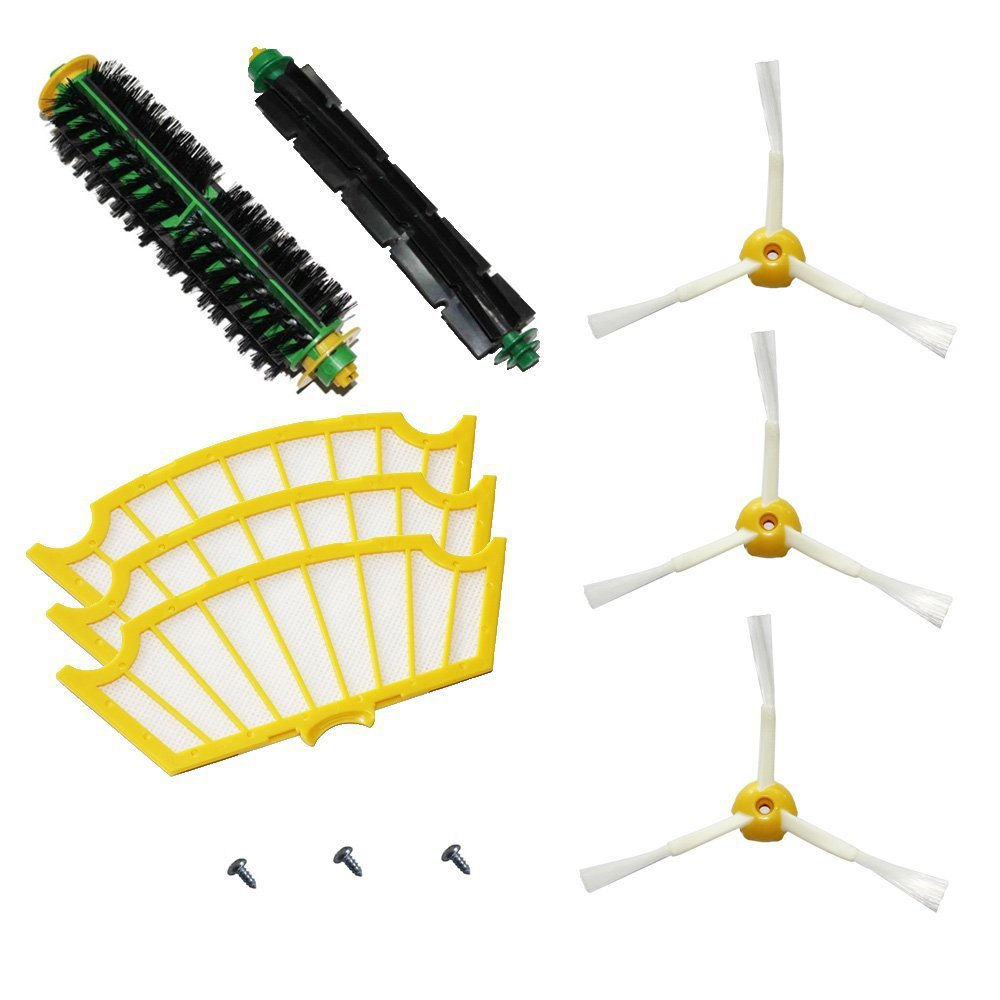 12pcs/lot Kit for iRobot Roomba 500 Series Roomba 510, 530, 535, 536, 540, 550, 551, 552, 560, 564, 570 Vacuum Cleaning Robots samsung rs 552 nruasl