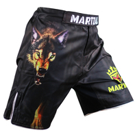 Men S War Wolf MMA Shorts Fitness Combat Training Shorts Breathable Wear Cost Effective Muay Thai