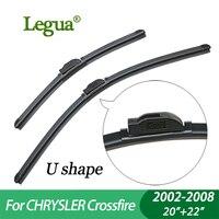 Legua Wiper blades for CHRYSLER Crossfire (2002-2008), 20